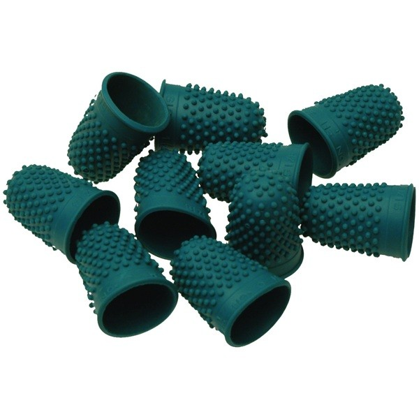 THIMBLETTES SIZE13 NO2 PACK 10 GREEN