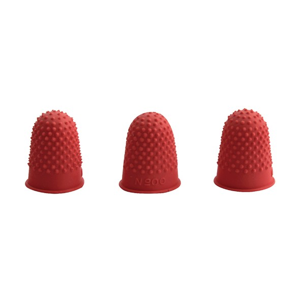 THIMBLETTES SIZE12 NO1 PACK 10 RED