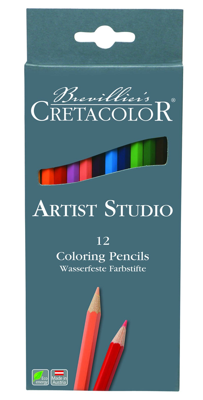 COLORING PENCILS 12PCS CRETACOLOR