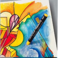 AQUARELLE OIL PASTELS 10PCS