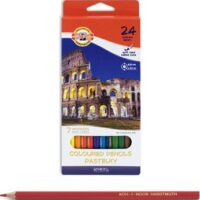 COLOURED PENCILS 24PCS PASTELSKY