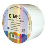 TAPE 65MMX15M DOUBLE SIDE ADHESIVE