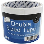 DOUBLE SIDED TAPE 4X8M 18MM