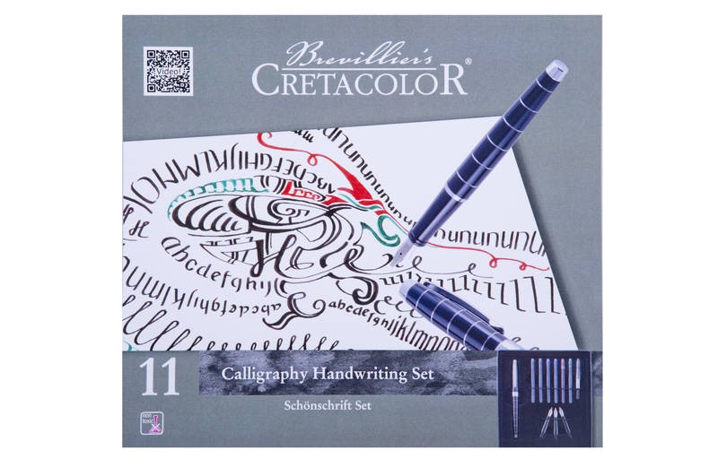 CALLIGRAPHY HANDWRITING SET 11PCS