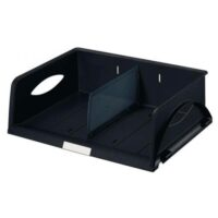 LETTER TRAY WIDE ENTRY SORTY BLACK