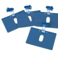 BLUE NAME BADGE 10 PCS