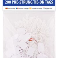 STRUNG TAGS 13X209MM 200