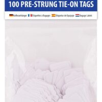 STRUNG TAGS 25X39MM 100