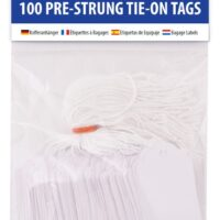 STRUNG TAGS 36X53MM 100