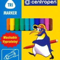 COLOUR MARKERS X12 STANDARD 2550 WASHABLE