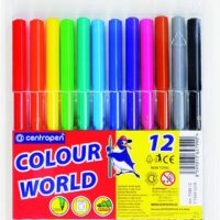 COLOUR MARKERS X12 WASHABLE 7550
