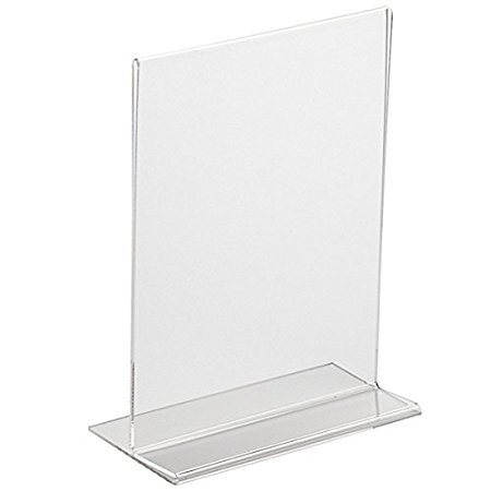 ACRYLIC SIGN HOLDER A5 14,8X21 VERTICAL