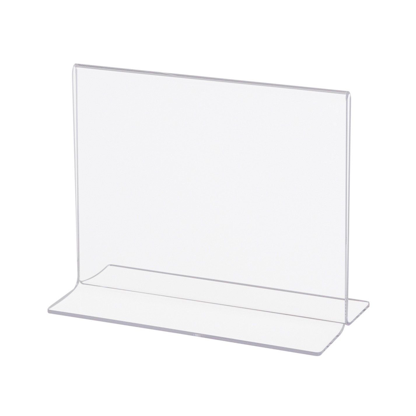 ACRYLIC SIGN A4 7084002-4 HOLDER HORIZONTAL 29.7X21