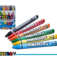 JUMBO CRAYON POT 36PCS