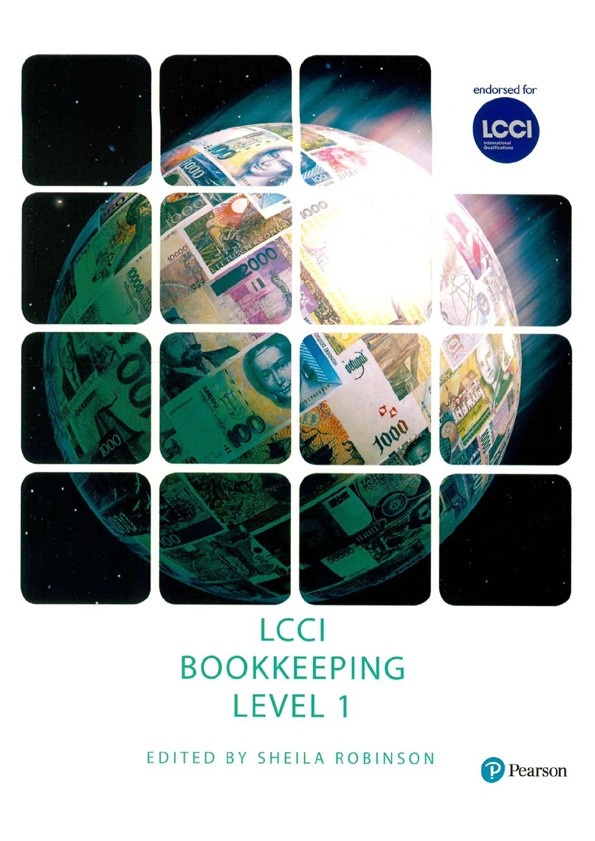 LCCI BOOKKEEPING  LEVEL 1 BOOK NEW