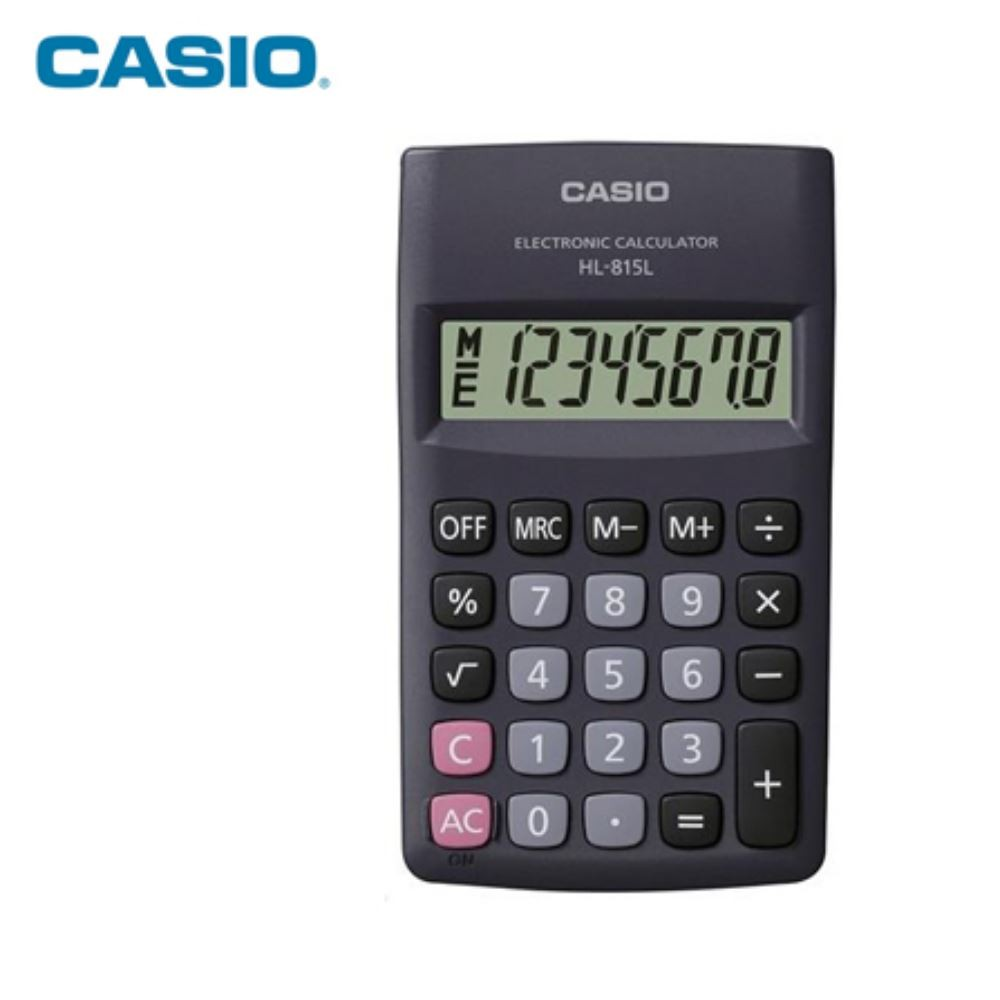 CALCULATOR – CASIO HL-815L BLACK