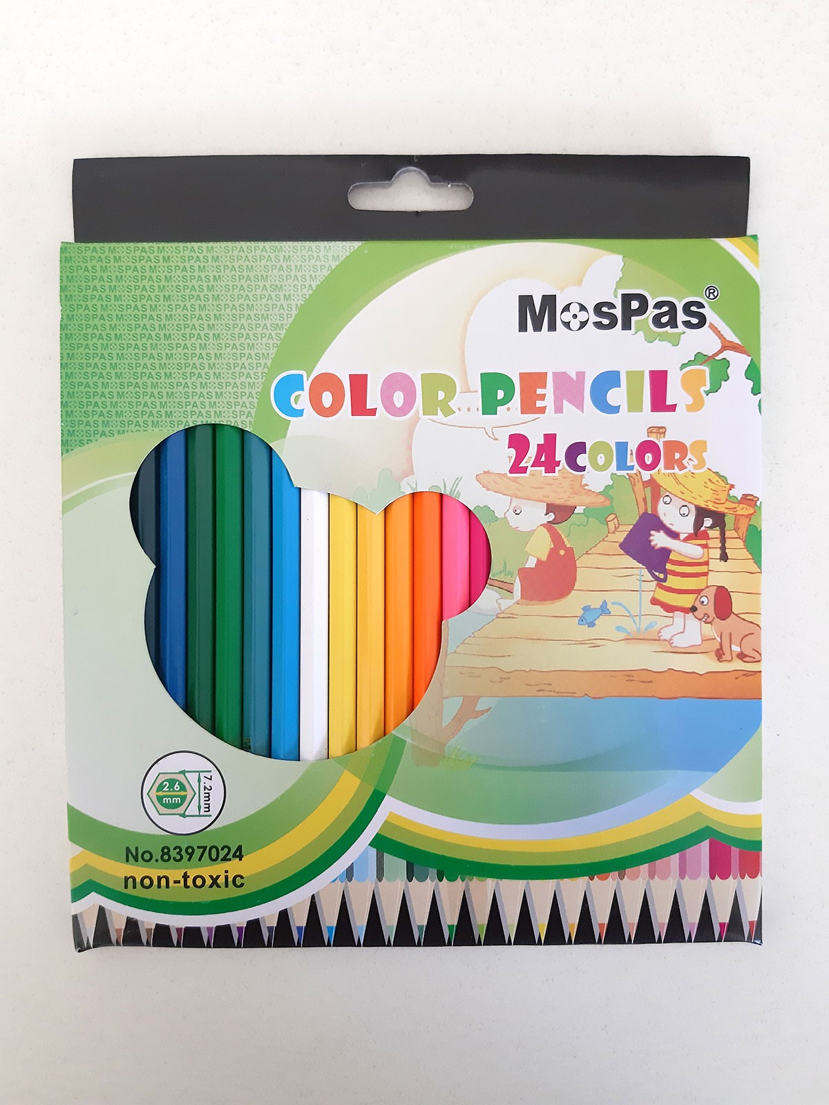 COLOR PENCILS 24PCS