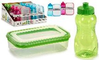 LUNCH BOX & BOTTLE 47315