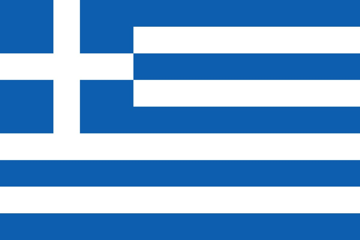 FLAG 1X1.5M GREEK