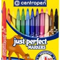 COLOUR MARKERS X12 PERFECT DRY SAFE 2510
