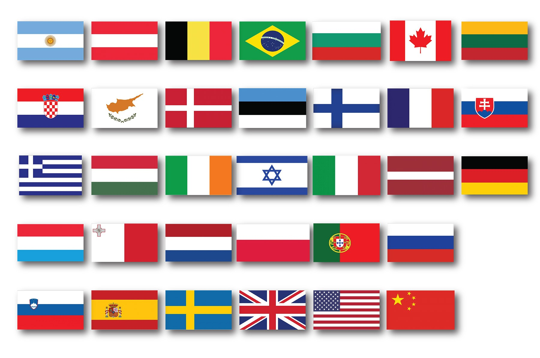FLAG 1.5MX0.90M DIFFERENT COUNTRIES