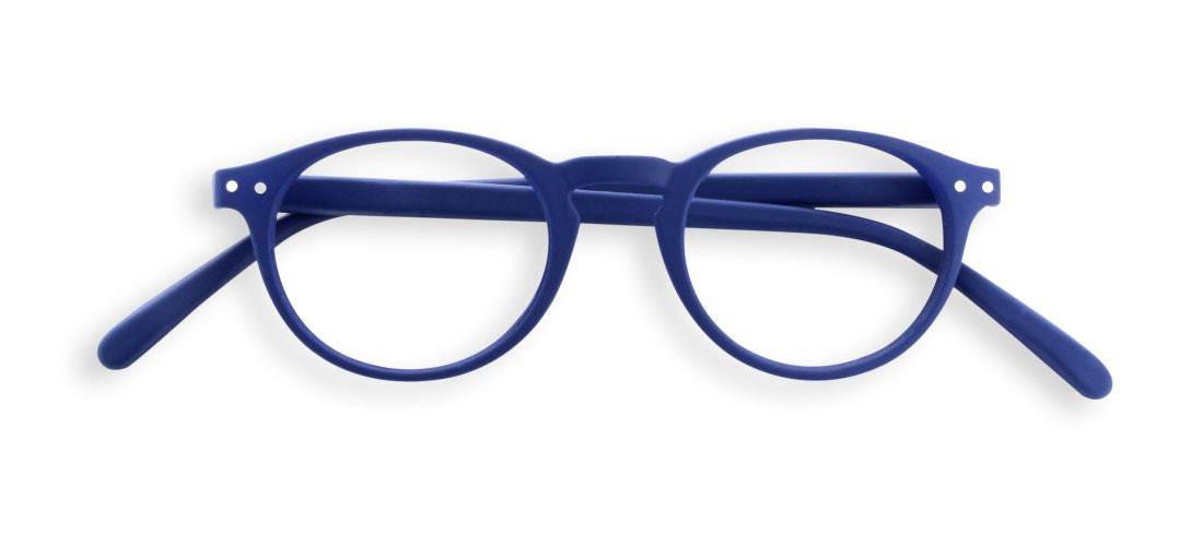 #A READING GLASSES NAVY BLUE SOFT