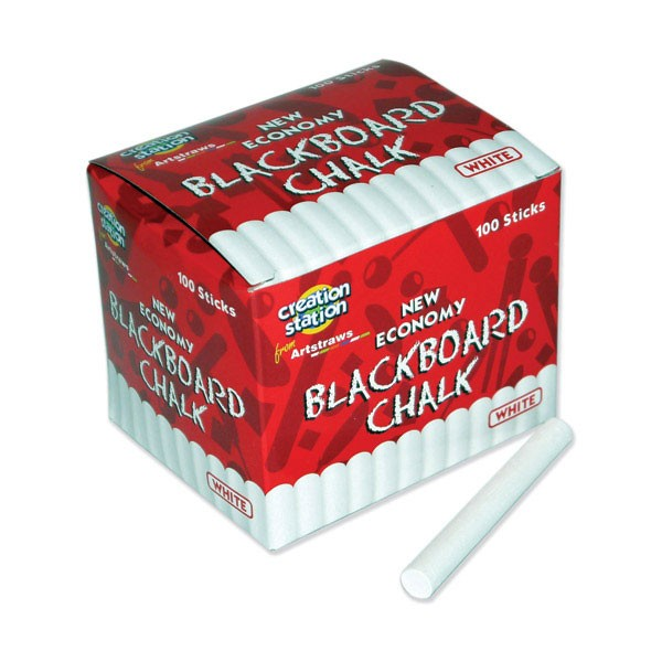 BLACKBOARD CHALK  WHITE 100