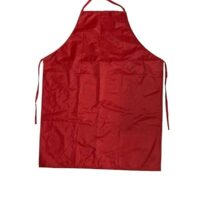 APRON RED T-4