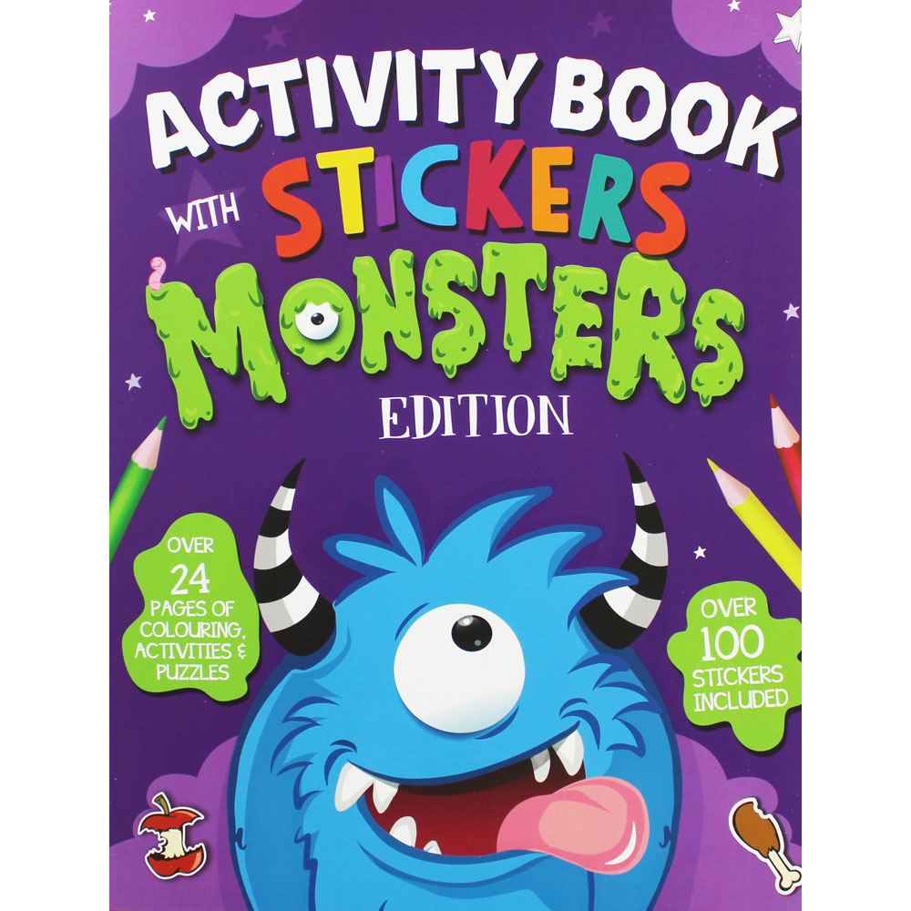 26073-MONS MONSTER ACTIVITY BOOK