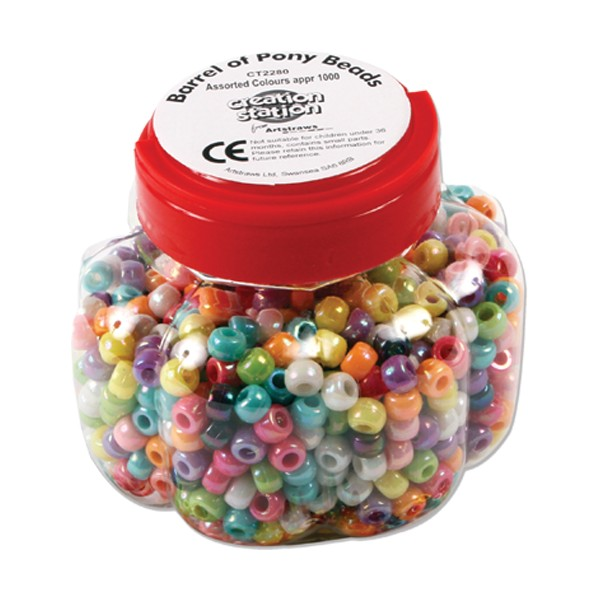 BARREL OF PONY BEADS CT2280 250G