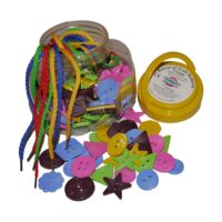 BARREL OF CRAFT BUTTONS CT2362