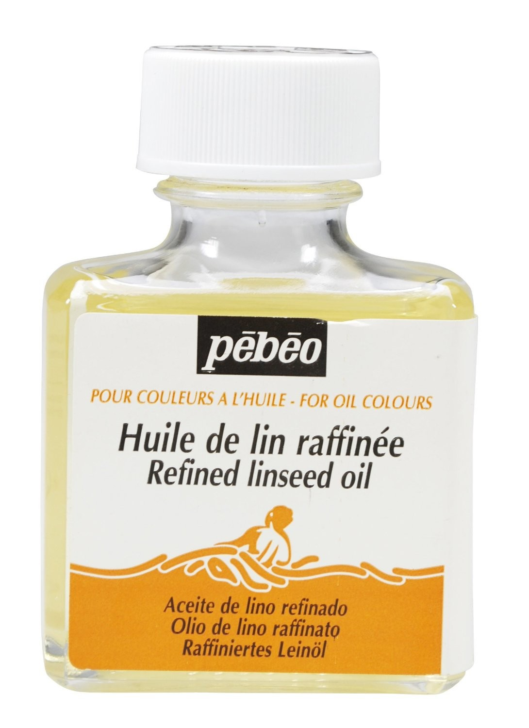 REFINED LINSEED OIL 75ML BOTTLE