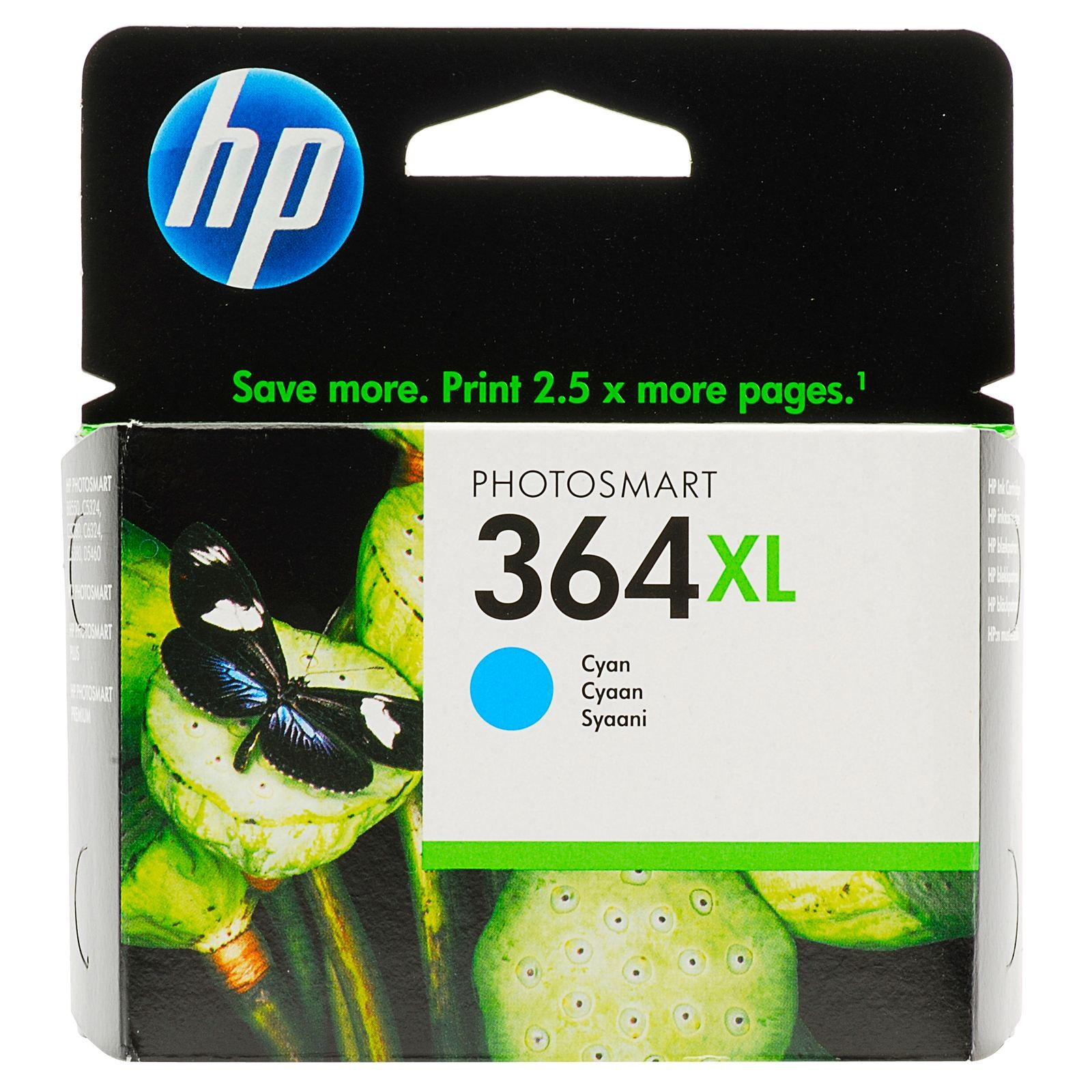 HP INK 364XL CYAN