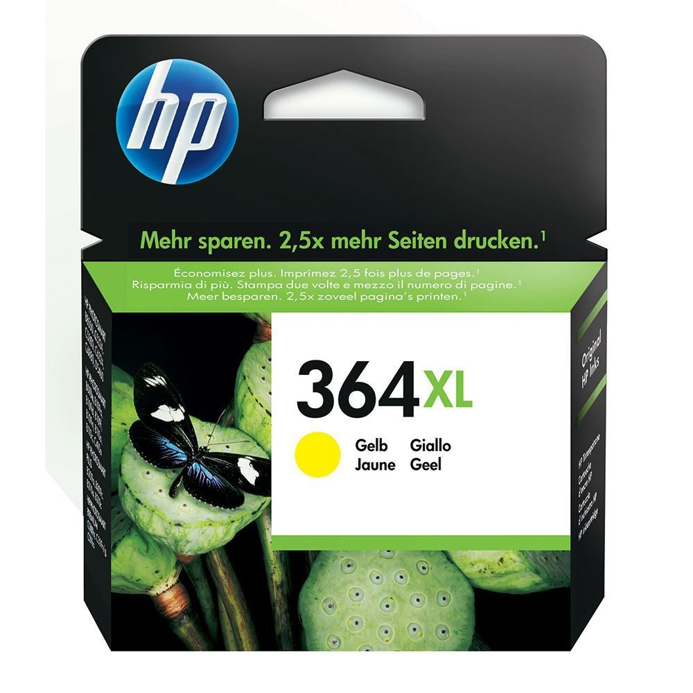 HP INK 364XL YELLOW