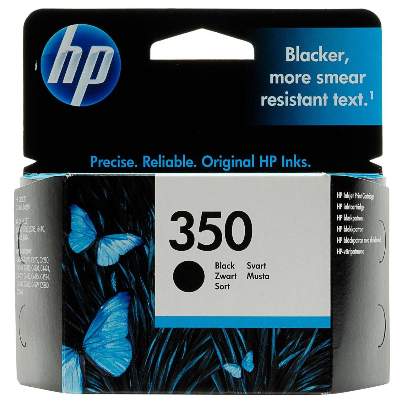 HP INK 350 BLK