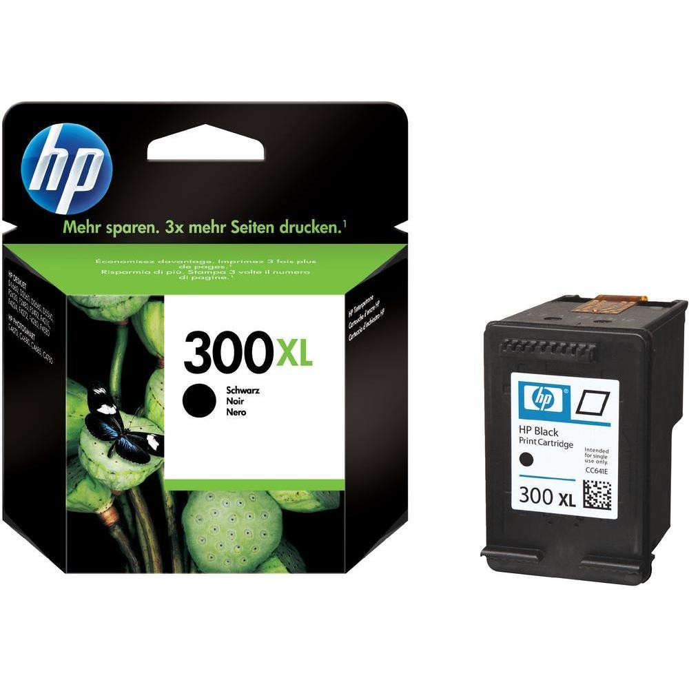 HP INK 300XL BLK