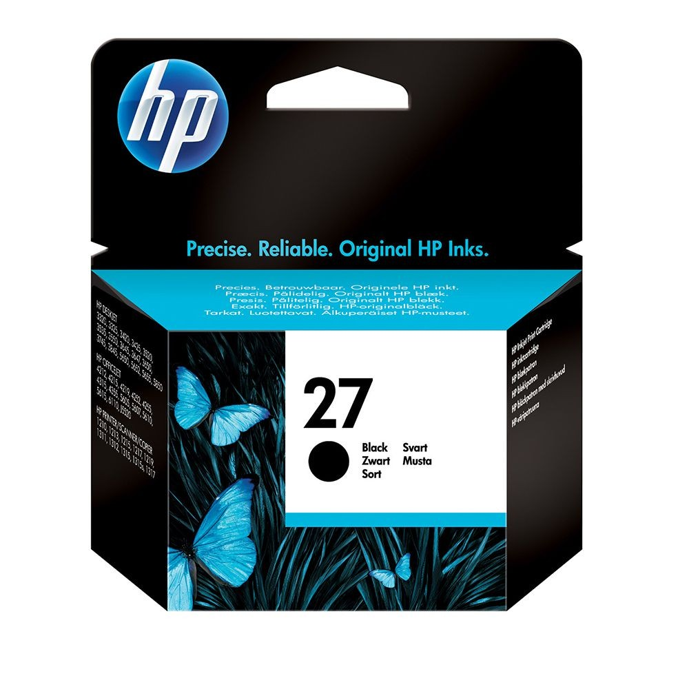 HP INK 27 BLACK