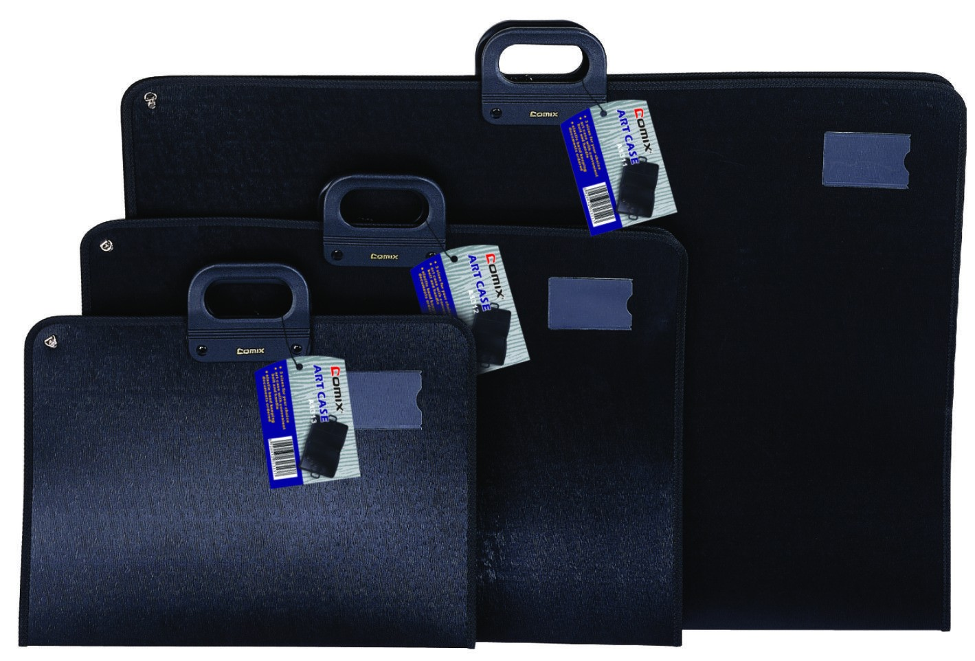 PORTFOLIO ZIP ART CASE A1 A1311 BLACK 920X640X40