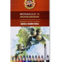 COLOURED PENCILS AQUARELL SET OF 24