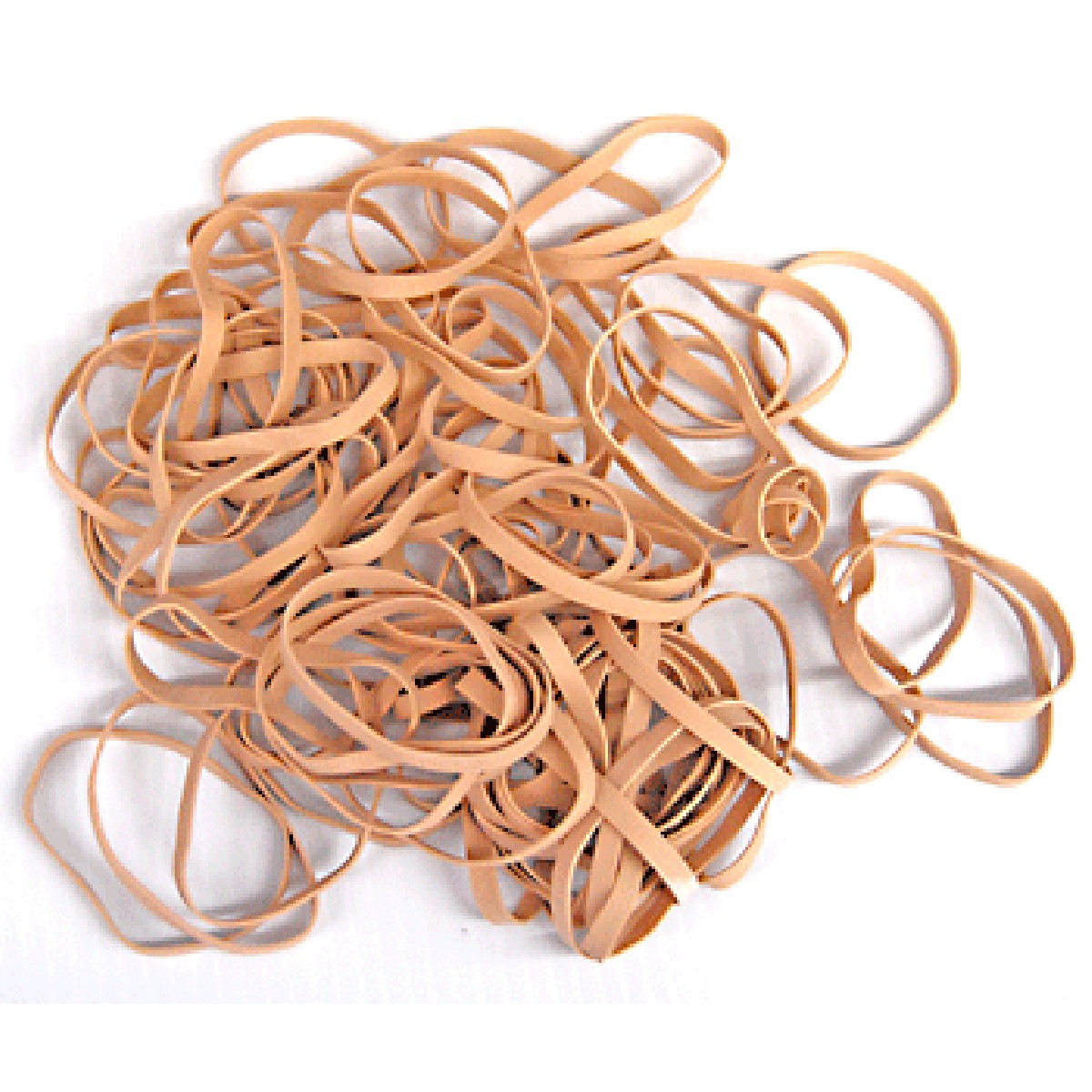 RUBBER BANDS 100MMX9.0MM NATURAL