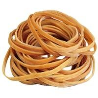 RUBBER BANDS 120MMX6.0MM NATURAL