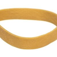 RUBBER BANDS 130MMX25MM NATURAL
