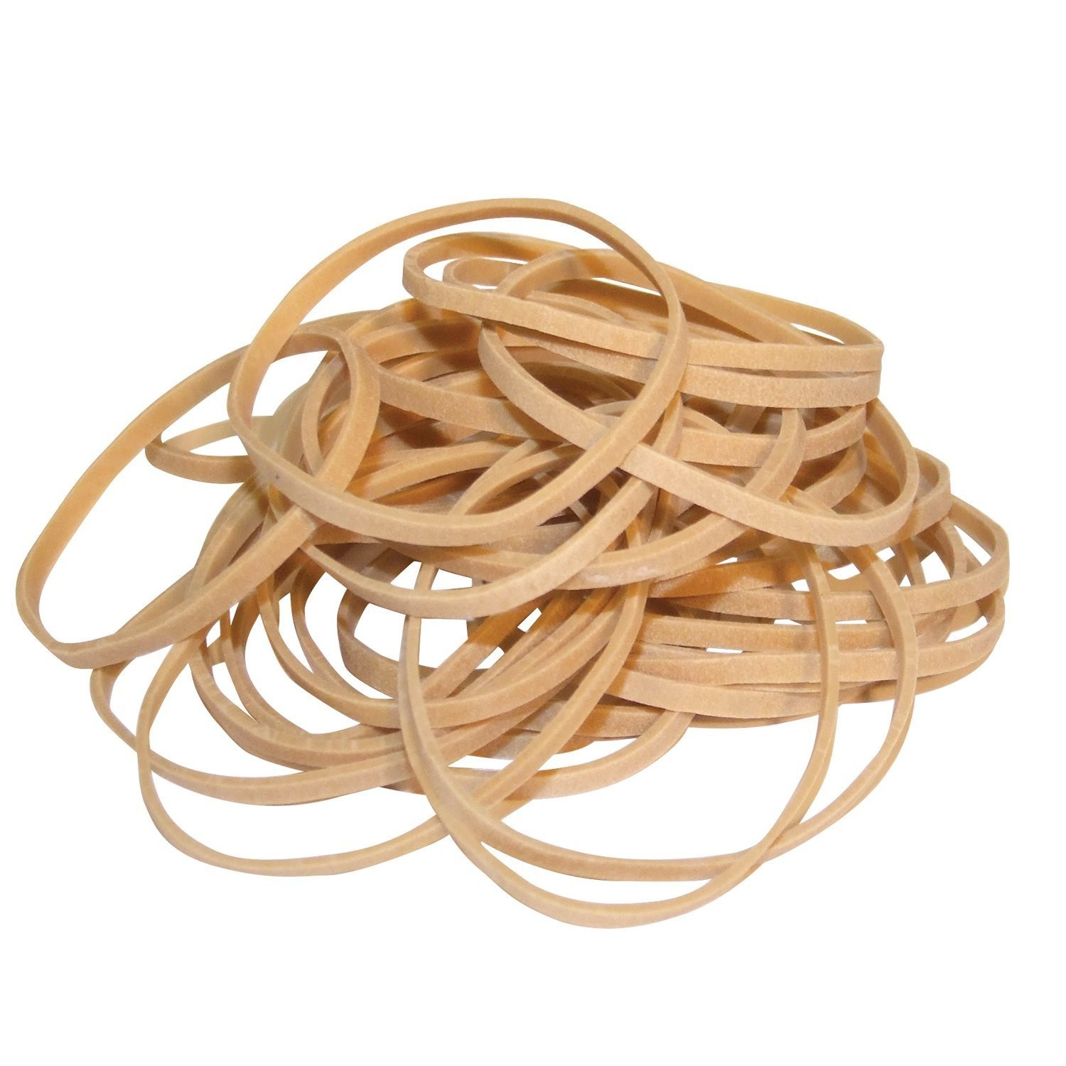 RUBBER BANDS 160MMX3.0MM NATURAL