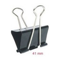 DOUBLE CLIPS  41MM 12PCS 800-2 BINDER
