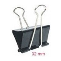 DOUBLE CLIPS  32MM 12PCS 800-3 BINDER