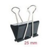 DOUBLE CLIPS  25MM 12PCS 800-4 BINDER