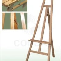 EASEL A13176 BEECH WOOD 162X83X65  VARNISHED