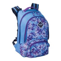 2 COMP MONTAGNE VIOLET BACKPACK