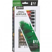 STUDIO ACRYLICS SET 12Px12ML