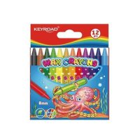 KR971303 CRAYON WAX SET OF 12 8MM